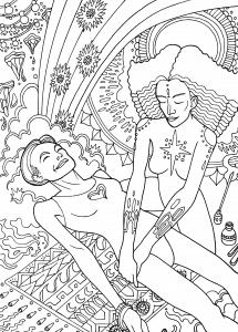 closing the bones illustration